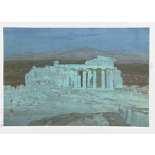 吉田博: The Acropolis Ruins, Night - Art Gallery of Greater Victoria