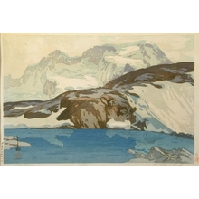 吉田博: The Breithorn - Art Gallery of Greater Victoria