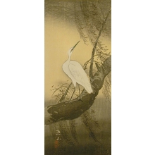 Ito Sozan: White Egret - Art Gallery of Greater Victoria