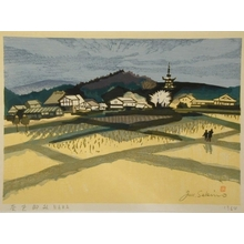 Junichiro Sekino: Rice Field near Nara - Art Gallery of Greater Victoria