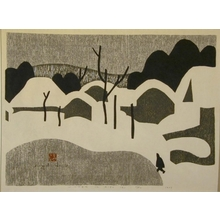 Kiyoshi Saito: Winter in Aizu (A) - Art Gallery of Greater Victoria