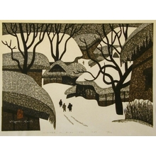 Kiyoshi Saito: Winter in Aizu, No. 13 - Art Gallery of Greater Victoria