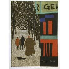 Kiyoshi Saito: Winter in Paris (C) - Art Gallery of Greater Victoria