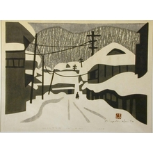 Kiyoshi Saito: Winter in Aizu, No. 17 - Art Gallery of Greater Victoria
