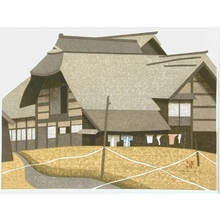 Kiyoshi Saito: Farm House Scene - Art Gallery of Greater Victoria