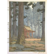 Yoshida Toshi: Sacred Grove - Art Gallery of Greater Victoria