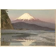 吉田博: Fujiyama from Okitsu - Art Gallery of Greater Victoria