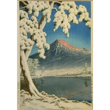 Kawase Hasui: Mt. Fuji Clear After Snow, Tagonoura - Art Gallery of Greater Victoria