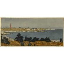 吉田遠志: Peggy's Cove, Nova Scotia - Art Gallery of Greater Victoria