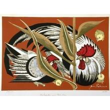 Junichiro Sekino: Mr Rooster and Mrs Hen - Art Gallery of Greater Victoria
