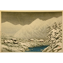 Kawase Hasui: Seven Miles from Nakayama in Hida District - Art Gallery of Greater Victoria
