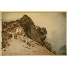 Yoshida Hiroshi: Summit of Fujiyama - Art Gallery of Greater Victoria