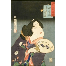 Toyohara Kunichika: Country Girl - Art Gallery of Greater Victoria