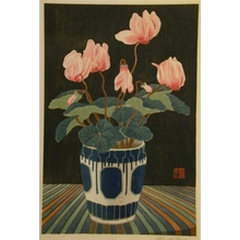 Mokuchu Urushibara: Cyclamen - Art Gallery of Greater Victoria