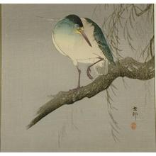 Ohara Koson: Night Heron - Art Gallery of Greater Victoria