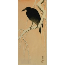 Ohara Koson: Crow - Art Gallery of Greater Victoria