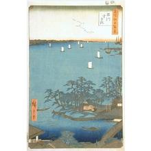 歌川広重: Shinagawa - Art Gallery of Greater Victoria