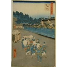歌川広重: Shimmei Shrine and Zojoji Temple - Art Gallery of Greater Victoria