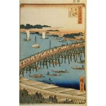 歌川広重: Ryogoku Bridge and the Great Riverbank - Art Gallery of Greater Victoria