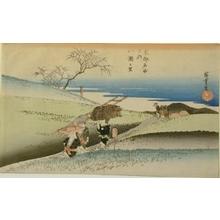 Utagawa Hiroshige: Yase no Sato - Art Gallery of Greater Victoria