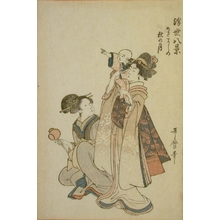 Kitagawa Utamaro: Mid-Autumn Moon Viewing - Art Gallery of Greater Victoria