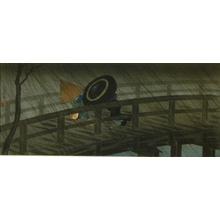 Shotei Takahashi: Night Shower at Izumi Bridge - Art Gallery of Greater Victoria