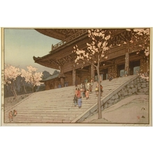 吉田博: Chion-in Temple Gate - Art Gallery of Greater Victoria