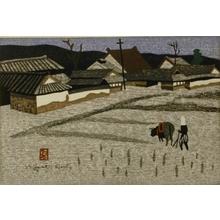Kiyoshi Saito: Ploughing the Rice Field - Art Gallery of Greater Victoria