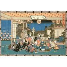 Utagawa Hiroshige: Tale of the Forty-Seven Ronin: Act VII - Art Gallery of Greater Victoria