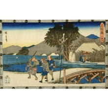 Utagawa Hiroshige: Tale of the Forty-Seven Ronin: Act VI - Art Gallery of Greater Victoria