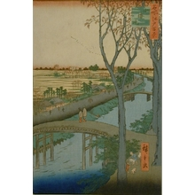 Utagawa Hiroshige: Koume Embankment - Art Gallery of Greater Victoria