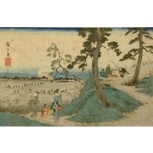 Utagawa Hiroshige: Picnic at Dokenyama - Art Gallery of Greater Victoria