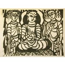 Munakata Shiko: Shaka Nyorai - Art Gallery of Greater Victoria