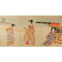 Toyohara Chikanobu: Palanquin - Art Gallery of Greater Victoria