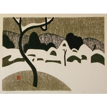 Kiyoshi Saito: Winter in Aizu (B) - Art Gallery of Greater Victoria