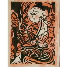 Munakata Shiko: Deity in Chinese Dress - Art Gallery of Greater Victoria