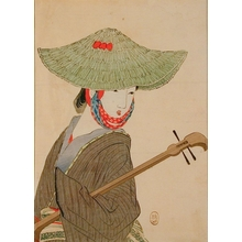 Takeuchi Keishu: Shamisen Player - Art Gallery of Greater Victoria