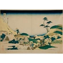 Katsushika Hokusai: Fuji from Shimo Meguro #25 - Art Gallery of Greater Victoria