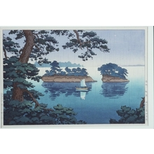 風光礼讃: Spring Rain at Matsushima - Art Gallery of Greater Victoria