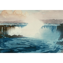 吉田博: Niagara Falls - Art Gallery of Greater Victoria