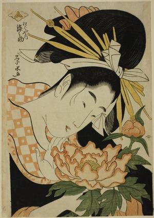 一楽亭栄水: Somenosuke of the Matsubaya - シカゴ美術館