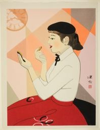 Ito Shinsui: Clock and Beauty, no. IV - Art Institute of Chicago