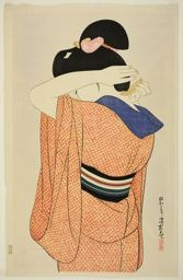 Ito Shinsui: The Long Undergarment - Art Institute of Chicago
