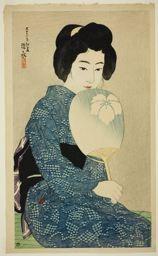 Ito Shinsui: Cotton Kimono, from the series