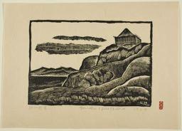 Hiratsuka Un'ichi: Landscape in Sagami - シカゴ美術館