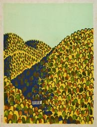 Hiratsuka Un'ichi: Mount Amagi Imperial Forest, Izu - シカゴ美術館