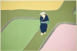 Kamisaka Sekka: A Walk Around the Paddy Fields, from the series
