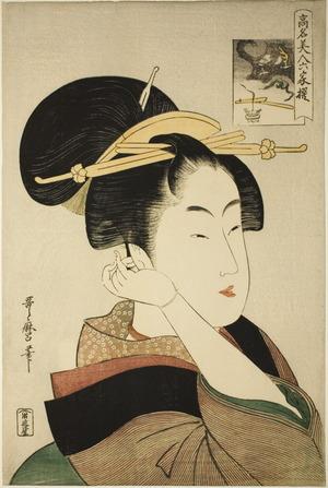 喜多川歌麿: Tatsumi-ya Roko - シカゴ美術館