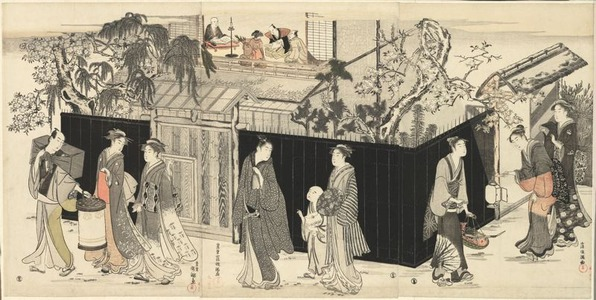 Kubo Shumman: Returning from a Poetry Gathering - Art Institute of Chicago