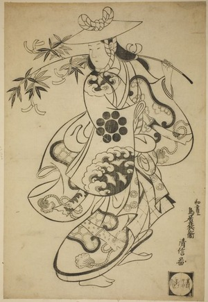 Torii Kiyonobu I: Tanabata Dance - Art Institute of Chicago